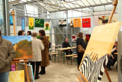 Kunstausstellung von Isselburg-creativ war gut besucht