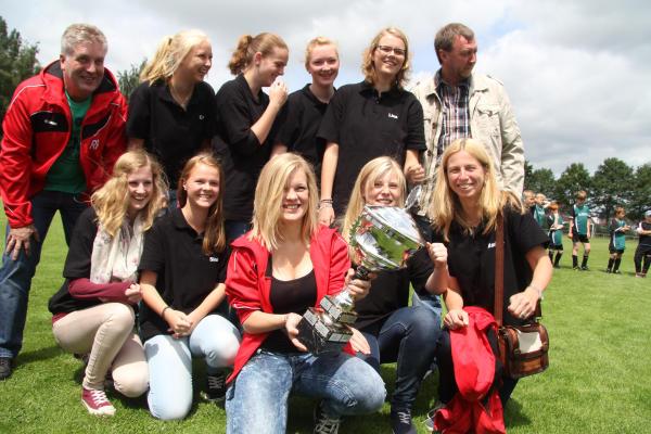 Die U-17-Damenmannschaft von Westfalia Anholt ist zur Mannschaft des Jahres gekürt worden
