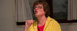 Edith Renting-Kolberg gehört zur Stammbesetzung der Grenzlandlaienspieler (Archvfoto: Frithjof Nowakewitz)