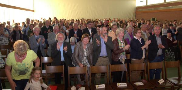 Das Publikum dankte den Musikern mit lang anhaltendem Beifall