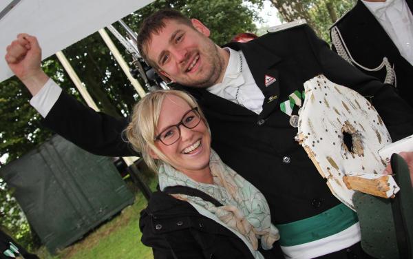 Dominic Jormann und Svenja Wille sind das Regentenpaar des Isselburger Schützenvereins