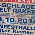 """Wie bereits berichtet, steigtam 19. Oktober im Bayernfestzelt auf der Bocholter Kirmeswieder die """"Mega-Schlager-Festzelt-Rakete"""". Hierbei geben sich beispielswiese Norman Langen, Sandy Wagner, Jörg Bausch Willi […]"""