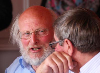 Dr.Beine (links) und Felix Kleideiter mussten auch Kritik einstecken (Archivfoto IL)