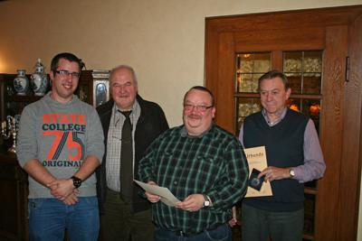 Von links: Sebastian te Beck, Laurenz Legeland, Peter Velsinger und Johannes Peters (Foto: Privat)