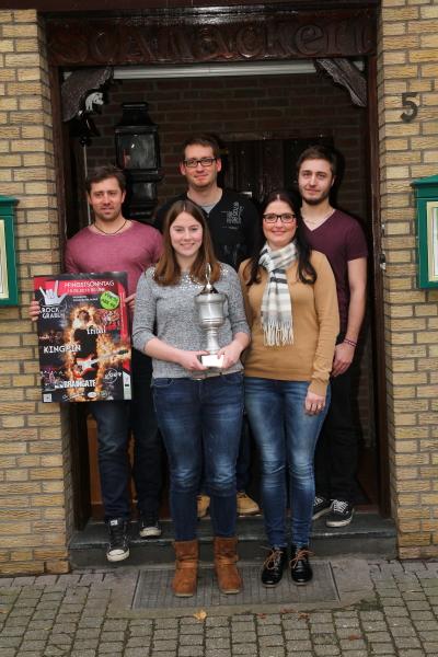 Von links: Daniel Willing, Carina Winters, Daniels Daniels, Marina Strauch, Urs Buchwald (Foto: Frithjof Nowakewitz)
