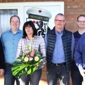 Von links: Jochen Peters, Michael Klein-Uebbing, Karola Nienhaus, Klemens Nienhaus, Hans Schnieder und Karl Kaienburg