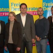 Von links: Johannes Epping, Annemarie Möllmann, Kevin Schneider, David Schaffeld, Hermann Gebbing