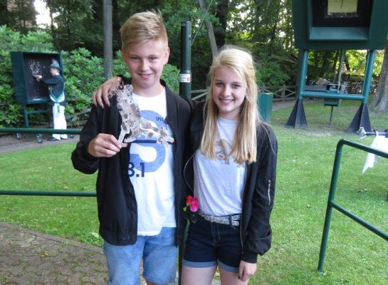 Tim Döring und Melissa Freund sind Anholts neues Kinderschützenkönigspaar (Foto: Privat)