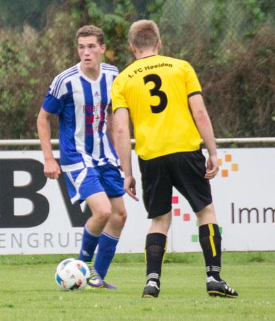 Spielszene SV Werth - FC Heelden (Foto: Frithjof Nowakewitz)