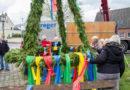 Maikranzerrichtung in Isselburg