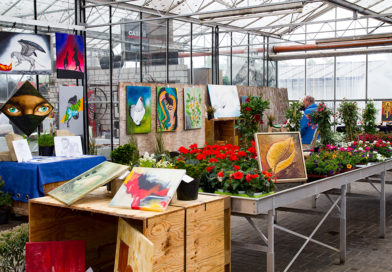 Kunst & Natur – Alles unter einem Glasdach