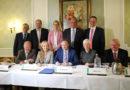 """""""Ausdruck der Solidargemeinschaft"""" – Bürgermeister unterschreiben Hochwasserschutzkonzept"""