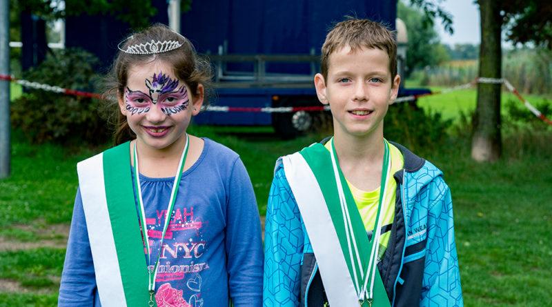 Finn Meyer und Leonie Thanisch sind das neue Kinderschützenkönigspaar in Isselburg