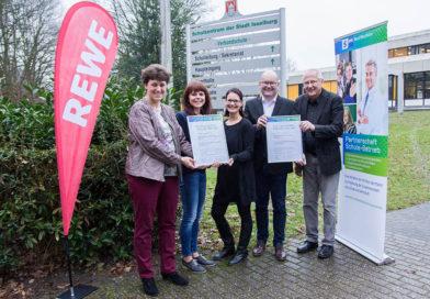 Verbundschule und Rewe-Lütfrink gehen Kooperation ein