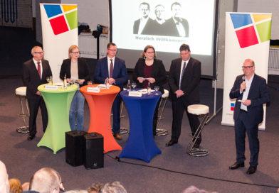BM-Kandidaten präsentieren sich einem breiten Publikum