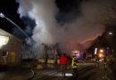 In Heelden brannte eine Lagerhalle