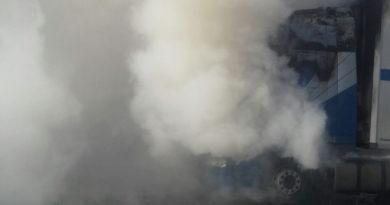 LKW-Brand in Heelden war Brandstiftung – Täter ist gefasst