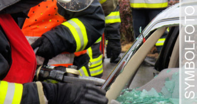Tödlicher Verkehrsunfall auf der B67