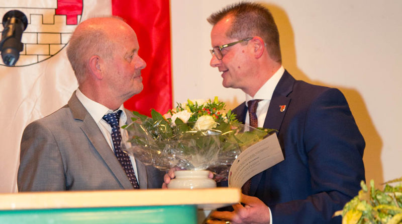 Bürgermeister Rudi Geukes in den Ruhestand verabschiedet