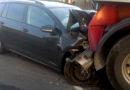 Eine verletzte Person bei Verkehrsunfall in Heelden