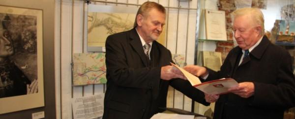 Fritz Stege erhält Bürgerehrenpreis