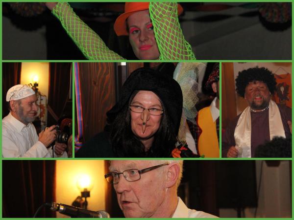 Lokalkolorit beim MGV - Karneval mit Seitenhieben