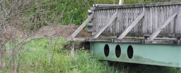 Katz und Maus-Spiele an der Reiterbrücke
