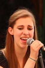 """Manon Tefert war mit """"Soulgarden"""" im Hotel Nienhaus zu Gast."""