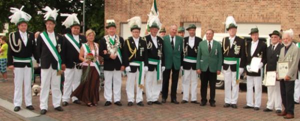 Schützenverein ehrt langjährige Mitglieder