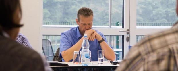CDU-Fraktionschef Frank Häusler sagt Nein zum Stromberg (Archivfoto: Frithjof Nowakewitz)
