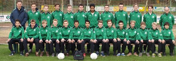 Trainingsanzüge für die C-Jugend der JSG Isselburg/Heelden