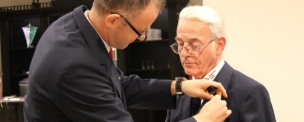 DRK ehrt Franz Brömmling für 60-jährige Mitgliedschaft