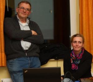 Wilfried Elting und Claudia Küper erklärten, welche Vorteile die Hauptschule gerade für Isselburg hat