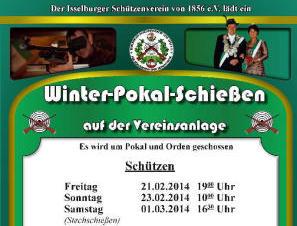 Winterpokalschießen des Isselburger Schützenvereins