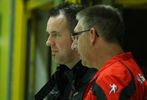 Martin Weber (links) und Uwe Buil konnten sich über den gelungenen Saisoneinstand freuen (Archivfoto IL)