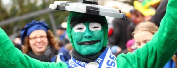 Straßenkarneval und Zeltparty