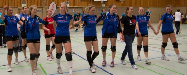 Volleyballdamen unterliegen Köln mit 0:3