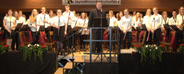 Jugendblasorchester feierte sein 50-jähriges Bestehen