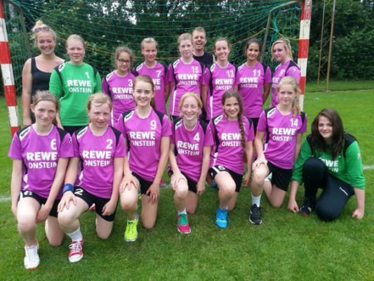Junge Handballerinnen der HSG wollen in die Oberliga