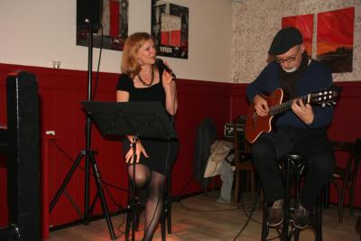 Christa Warnke und Christian Hassenstein gastieren am 29.6. im Restaurant Nienhaus (Foto: Privat)