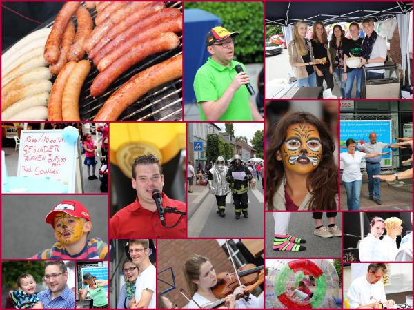 Impressionen vom Stadtfest (Fotos u. collage: Frithjof Nowakewitz)