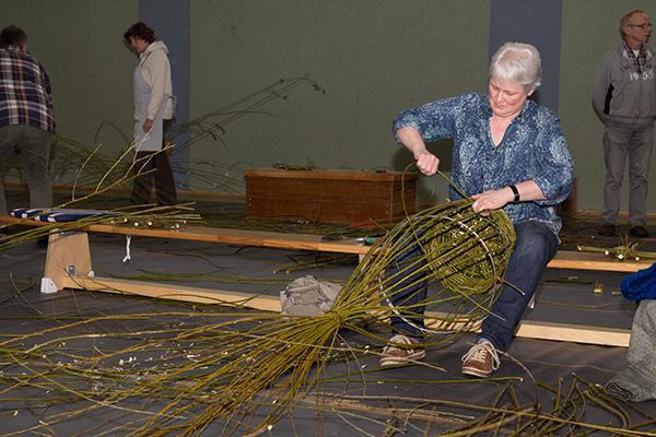 Annemarie van Hal beherrschte das alte Handwerk. (Foto: Frithjof Nowakewitz)