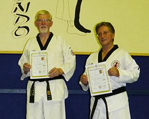 Isselburger Teakwondo-Sportler bestehen Prüfung