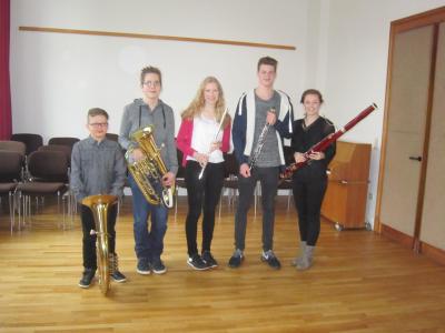 Von links: Till Albers, Pascal Somsen, Ricarda Häusler, Tim Hakvoort, und Katharina Zey (Foto: Privat)