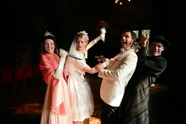 """Beim Krimidinner geht es um eine """"Hochzeit in Schwarz"""""""