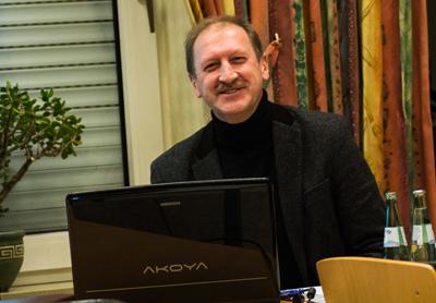 Waldemar Zaleski vom Kreissportbund stellte Fördermöglichkeiten vor (Foto: Frithjof Nowakewitz)