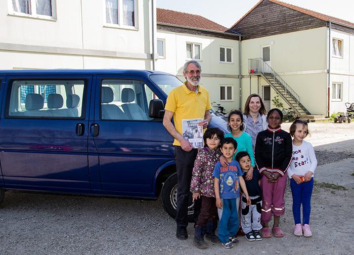 Sandra Fischer (Bildmitte)  hat nicht mehr die Zeit, um den Fahrdienst für die Kinder allein zu übernehmen (Foto: Frithjof Nowakewitz)