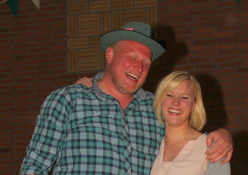 Michael Nienhaus und Janine Tenbrock sind das neue Königspaar des Schützenvereins Herzebocholt