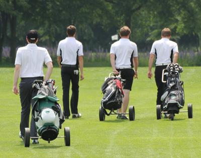 Anholter Golfer starteten in die neue Saison