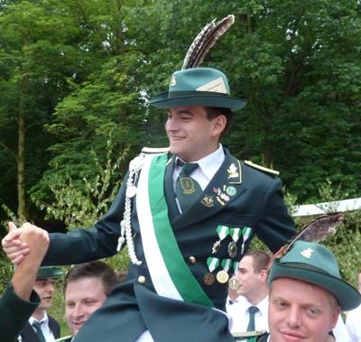 Markus Bruns ist Jungschützenkönig